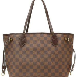 Louis Vuitton Damier Ebene Neverfull PM Tote